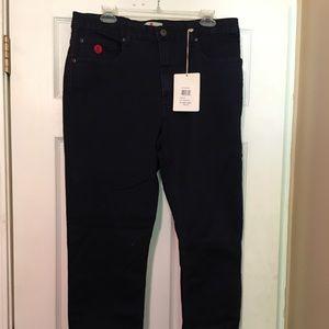 NWT Red Jeans NYC Size 16 High Waist SKINNY JEANS